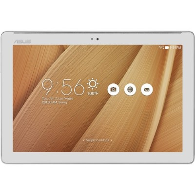 ASUS 90NP00C3-M01800 ZenPad 10  Z300M-A2 MediaTek MT8163 Quad-Core 1.30GHz Tablet - 2GB RAM  16GB Flash  10.1 LED IPS Touch  802.11 a/b/g/n  Bluetooth  Front an