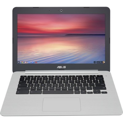 ASUS C301SA-DB04 C301SA-DB04 Intel Celeron N3160 Quad-Core 1.60GHz Chromebook - 4GB RAM  64GB SSD  13.3 Full HD  802.11ac  Bluetooth  Webcam  3-cell 48Whrs Li-I