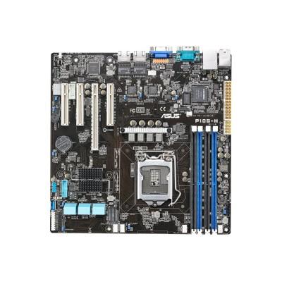 ASUS P10S-M P10S-M - Motherboard - micro ATX - LGA1151 Socket - C232 - USB 3.0 - 2 x Gigabit LAN - onboard graphics