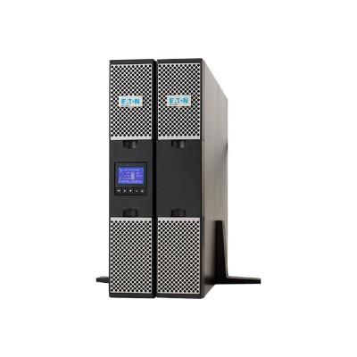 Eaton Corporation 9PXEBM72RT Extended Battery Module - Battery enclosure (rack-mountable) lead acid - 2U - black  silver