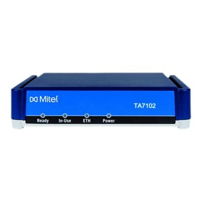 Mitel 51304959 TA7102 - VoIP phone adapter - 100Mb LAN