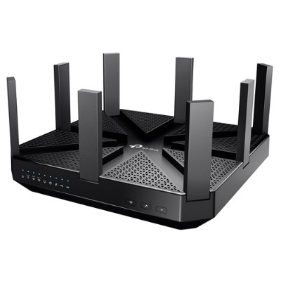 TP-Link ARCHER C5400 Archer C5400 - Wireless router - 4-port switch - GigE - 802.11a/b/g/n/ac - Tri-Band