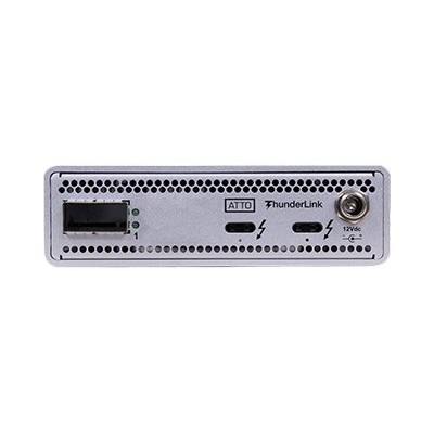 ATTO TLNQ-3401-D00 ThunderLink NQ 3401 - Network adapter - Thunderbolt 3 - 40 Gigabit QSFP+ x 1