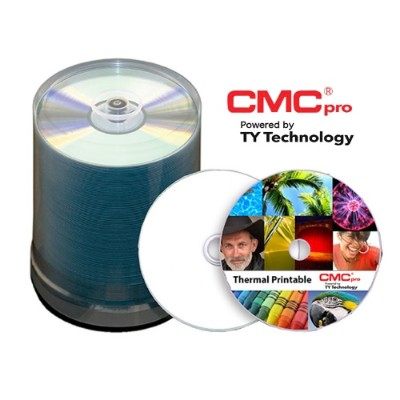 Microboards T-CDR-TWY-SB CMC Pro  48X  CD-R  White Thermal Printable (Prism Only)  100 Disc Spindle