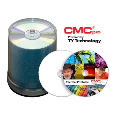 Microboards T-CDR-WPT-SK CMC Pro  48X  CD-R  White EVEREST Thermal (Hub Printable)  100-Disc Tape Wrap