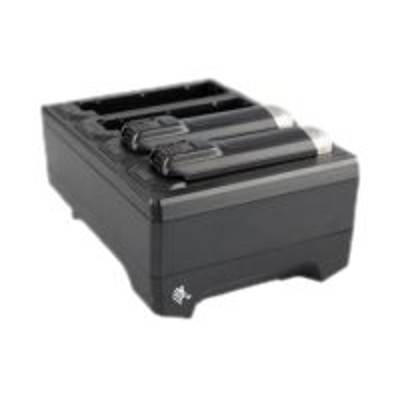 Zebra Tech SAC-NWTRS-4SCH-01 4-slot battery charger - Battery charger - for P/N: BTRY-NWTRS-33MA-01