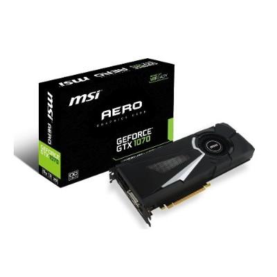 MSI GTX 1070 AERO OC NVIDIA GeForce GTX 1070 AERO 8G OC