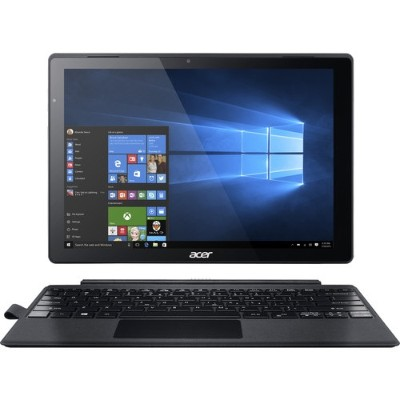 Acer NT.LCDAA.016 Switch Alpha 12 SA5-271-31U2 - Tablet - with detachable keyboard - Core i3 6100U / 2.3 GHz - Win 10 Home 64-bit - 4 GB RAM - 128 GB SSD - 12 I