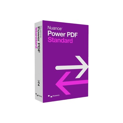 Nuance Communications AS09A-GP3-2.0 Power PDF Standard - (v. 2.0) - box pack - 5 users - DVD - Win - English - United States