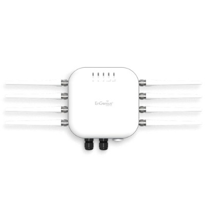Engenius Technologies EWS871AP Neutron EWS 11ac Wave 2 Outdoor Managed Access Point with Detachable Antennas -  4x4  MU-MIMO  Dual-Band AP Supports the Highest