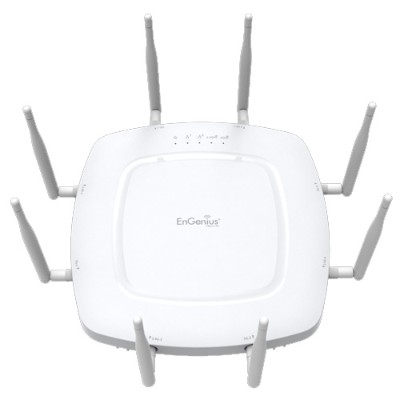Engenius Technologies EWS371AP Neutron EWS 11ac Wave 2 Indoor Managed Access Point with Detachable Antennas -  4x4  MU-MIMO  Dual-Band AP Supports the Highest C