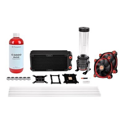ThermalTake CL-W128-CA12RE-A Pacific RL240 D5 Hard Tube Water Cooling Kit - Liquid cooling system kit - (LGA775 Socket LGA1156 Socket Socket AM2 Socket AM2+