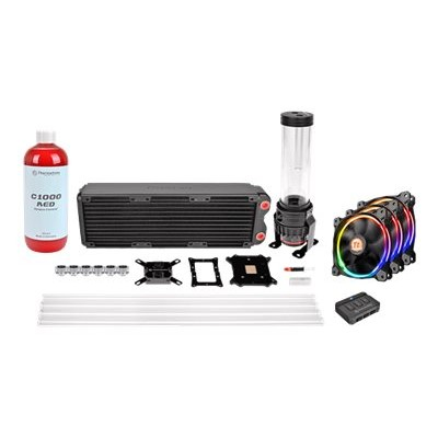 ThermalTake CL-W129-CA12SW-A Pacific RL360 D5 Hard Tube RGB Water Cooling Kit - Liquid cooling system kit - (LGA775 Socket  LGA1156 Socket  Socket AM2  Socket A