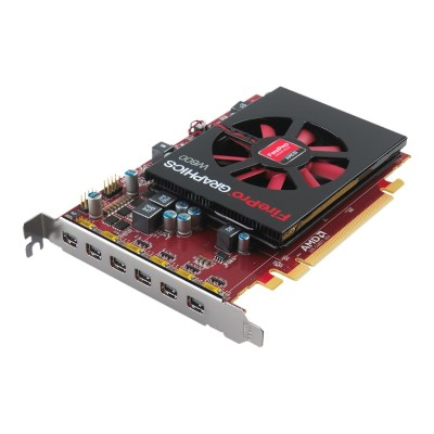 Advanced Micro Devices 100-505968 FirePro W600 - Graphics card - FirePro W600 - 2 GB GDDR5 - PCIe 3.0 x16 - 6 x Mini DisplayPort