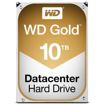 WD WD101KRYZ Gold Datacenter Hard Drive WD101KRYZ - Hard drive - 10 TB - internal - 3.5 - SATA 6Gb/s - 7200 rpm - buffer: 256 MB
