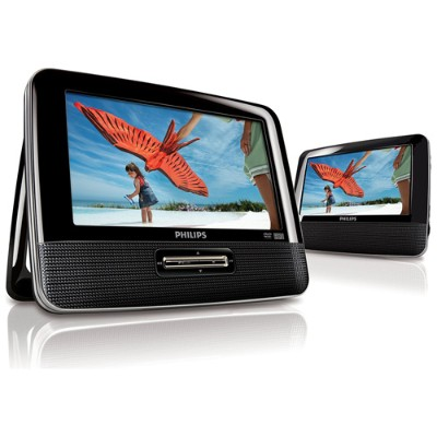 Philips PD7012G R PHILIPS 7 DUAL SCREEN POR TABLE DVD PLA