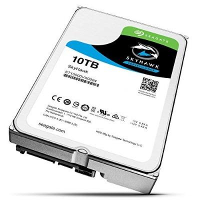 Seagate ST10000VX0004 Skyhawk Surveillance 10TB 6GB/s Internal Hard Drive