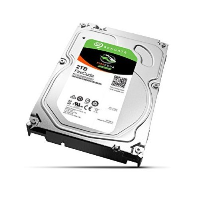 Seagate ST2000DX002 2TB FireCuda Gaming SSHD (Solid State Hybrid Drive) - SATA 6Gb/s 64MB Cache 3.5-Inch Hard Drive