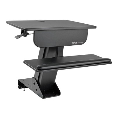 TrippLite WWSSDC Sit Stand Desktop Workstation Adjustable Standing Desk w/ Clamp