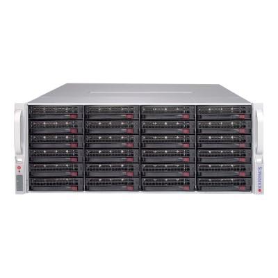 Super Micro CSE-847E1C-R1K28JBOD Supermicro SC847 E1C-R1K28JBOD - Rack-mountable - 4U - SATA/SAS - hot-swap 1280 Watt - black