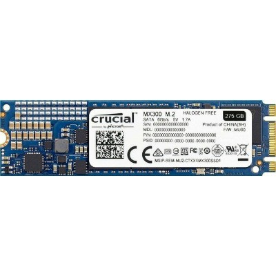 Crucial CT275MX300SSD4 275GB M.2 Type 2280 SSD