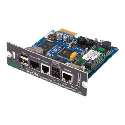 APC AP9635 Network Management Card 2 with Environmental Monitoring  Out of Band Management and Modbus - Remote management adapter - SmartSlot - 10/100 Ethernet