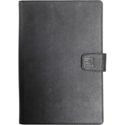Tucano TAB-U910 Uncino Large Universal Case for Tablet 9 to 10 with Swivel Support - Black