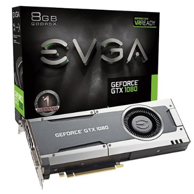 Evga 08G-P4-5180-KR GeForce GTX 1080 GAMING - Gaming Edition - graphics card - GF GTX 1080 - 8 GB GDDR5X - PCIe 3.0 x16 - DVI  HDMI  3 x DisplayPort