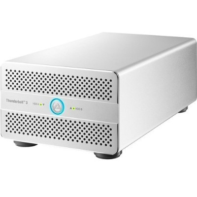 AKiTiO T3DP-T3DU3IS-AKTU Thunder2 Duo Pro - USB 3.0  Thunderbolt 2 (External)
