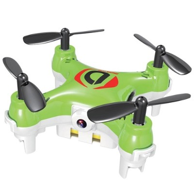 Worry Free Gadgets MINIDRONE-GRN Mini Drone Mirage with Camera - Quadcopter  Green