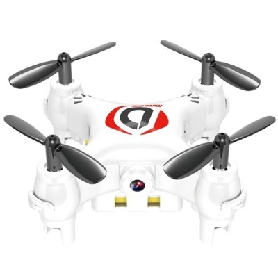 Worry Free Gadgets MINIDRONE-WHT Mini Drone Mirage with Camera - Quadcopter  White