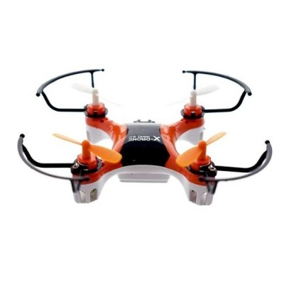 Worry Free Gadgets X-DRONE-ORG X-Drone Nano 2.0 Toy Drone - 2.40GHz Battery Powered  0.10 Hour Run Time  98.43ft Operating Range  RF  Outdoor  Indoor