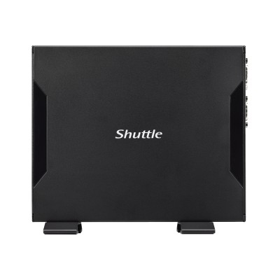 Shuttle DS68U XPC slim DS68U - Barebone - Slim-PC - 1 x Celeron 3855U / 1.6 GHz ULV - HD Graphics 510 - GigE - WLAN: 802.11b/g/n
