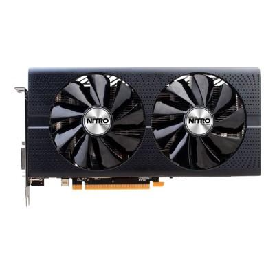 Sapphire 11260-01-20G Sapphire NITRO+ RX 480 OC - Graphics card - Radeon RX 480 - 8 GB GDDR5 - PCIe 3.0 x16 - DVI  2 x HDMI  2 x DisplayPort - lite retail