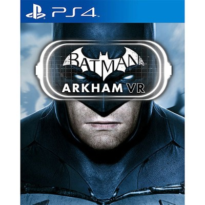 Warner Brothers Publications Inc 1000628897 Batman: Arkham VR for PlayStation 4