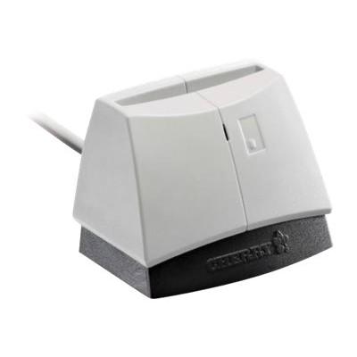 Cherry ST-1144UB SmartTerminal ST-1144 - SMART card reader - USB 2.0 - black  white