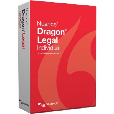 Nuance Communications A509A-G00-15.0 Dragon Legal Individual - (v. 15) - box pack - 1 user - DVD - Win - English