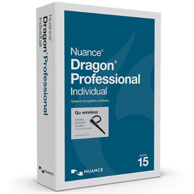 Nuance Communications K809A-GN9-15.0 Dragon Professional Individual - (v. 15) - box pack - 1 user - DVD - Win - US English