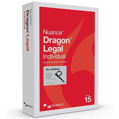 Nuance Communications A509A-GN9-15.0 Dragon Legal Individual Wireless - (v. 15) - box pack - 1 user - Win - US English