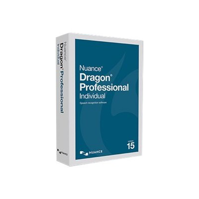 Nuance Communications K809A-S00-15.0 Dragon Professional Individual - (v. 15) - box pack - 1 user - local  state - DVD - Win - US English