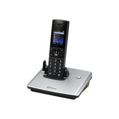 Polycom 2200-17821-001 VVX D60 - Cordless VoIP phone - DECT - SIP  SDP - 4 lines