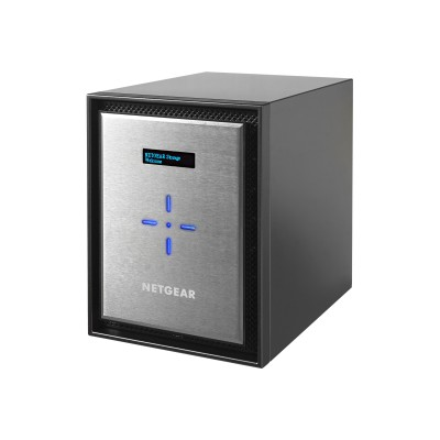 NETGEAR RN526X00-100NES ReadyNAS 526X - NAS server - 6 bays - SATA 6Gb/s - RAID 0  1  5  6  10  JBOD - RAM 4 GB - Gigabit Ethernet / 10 Gigabit Ethernet - iSCSI