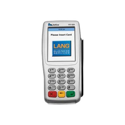 Verifone M282-703-CB-R-3 Vx 820 - Magnetic / SMART card reader (Tracks 1  2 & 3) - silver