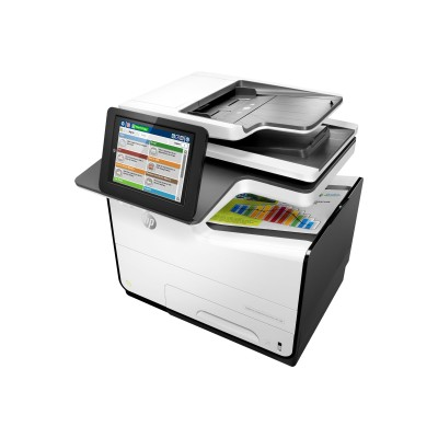 HP Inc. G1W41A#201 PageWide Enterprise Color Flow MFP 586z - Multifunction printer - color - page wide array - Legal (8.5 in x 14 in) (original) - A4/Legal (med