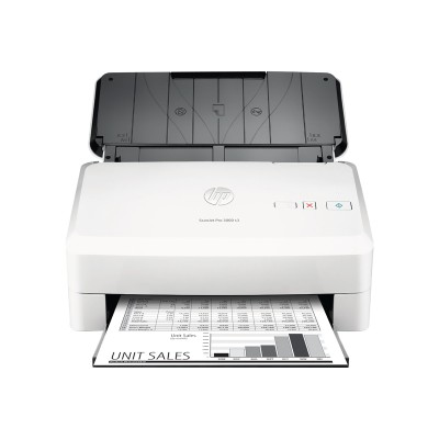 HP Inc. L2753A#BGJ Scanjet Pro 3000 s3 Sheet-feed Scanner - Document scanner - Duplex - 8.5 in x 122.05 in - 600 dpi x 600 dpi - up to 35 ppm (mono) - ADF (50 s