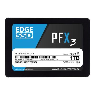 Edge Memory PE250614 1TB 2.5 PFX3 SSD - SATA 6Gb/s