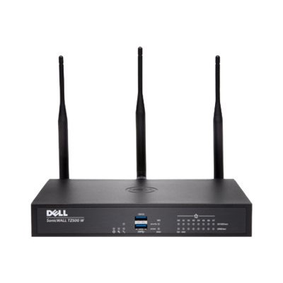 SonicWall 01 SSC 1745 TZ500 Wireless AC Advanced Edition security appliance 8 ports 10Mb LAN 100Mb LAN GigE 802.11a b g n ac Dual Band Secure U