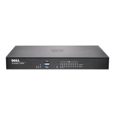 SonicWall 01 SSC 1736 TZ600 Advanced Edition security appliance 10 ports GigE Secure Upgrade Plus Program 2 years option
