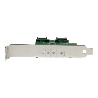 StarTech.com PEXM2SAT32N1 3-Port M.2 SSD (NGFF) Adapter Card - 1 x PCIe (NVMe)  2 x SATA III M.2 - PCIe 3.0 - PCI Express 3.0 M.2 NGFF Card