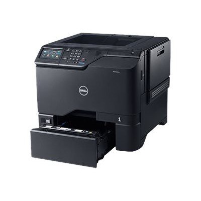 Dell S5840CDN Color Smart Printer S5840cdn - Printer - color - Duplex - laser - A4/Legal - 1200 x 1200 dpi - up to 50 ppm (mono) / up to 50 ppm (color) - capaci